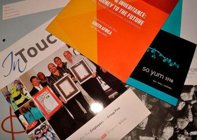 Magazines-annual-reports-folders