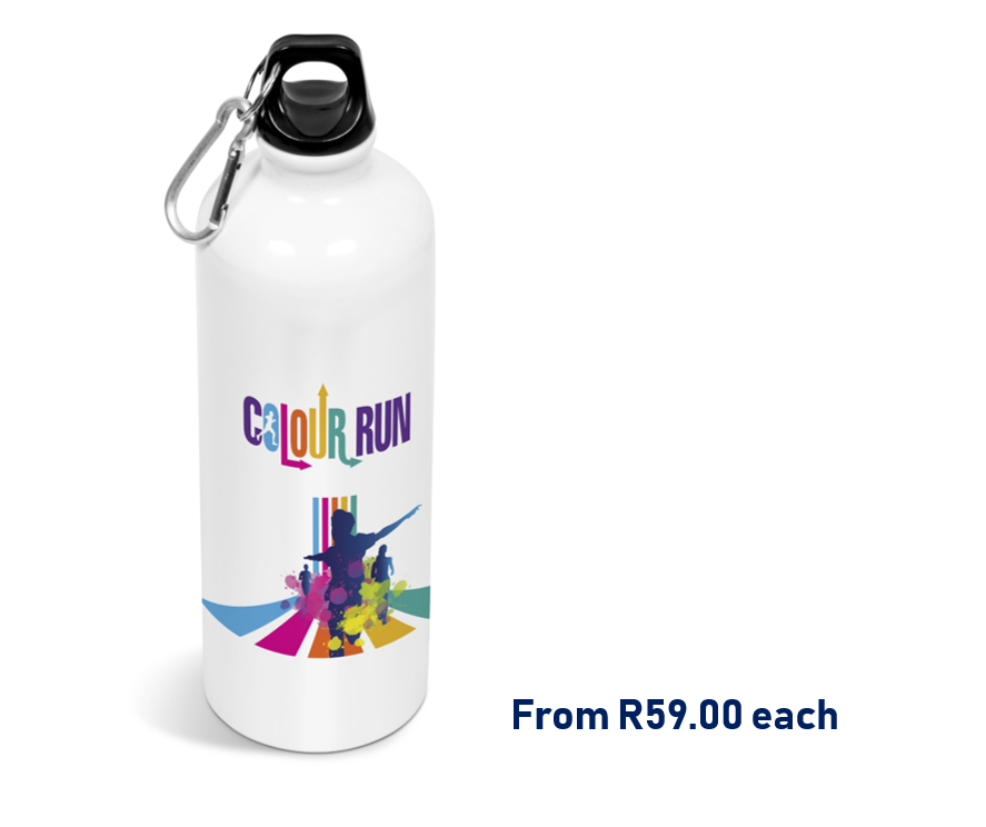 Branded water bottle south africa