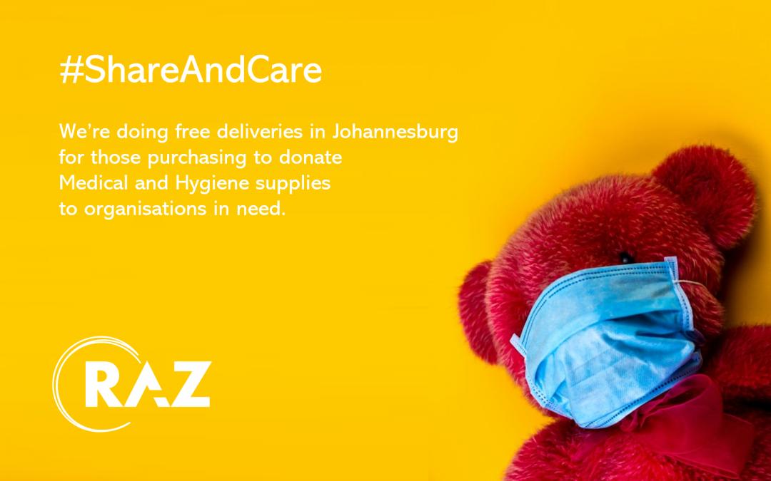 Raz #ShareandCare Initiative